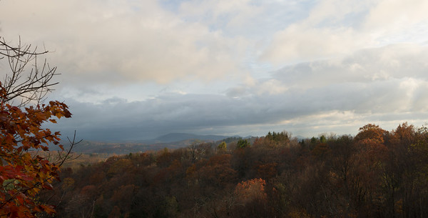 Blue Ridge Mountains in Fall