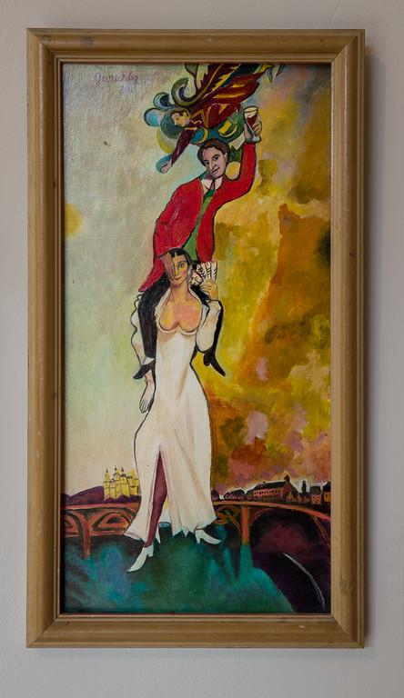 "Fritz Janschka, ""Marc Chagall, Another Wedding"" 2012."
